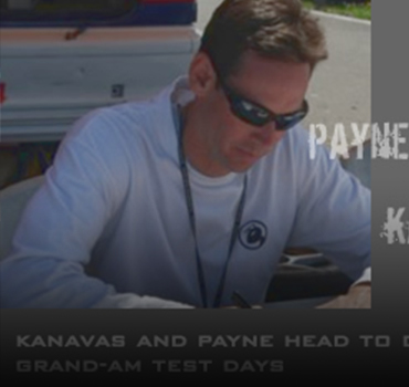 Kanavas and Payne head to Daytona for Grand-Am Test Days